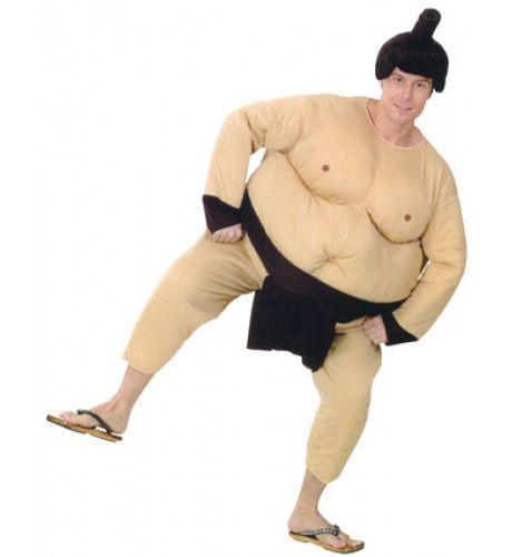 Dikke Shangsen Sumoworstelaar Man Kostuum