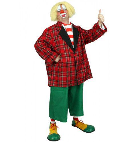 Compleet Nederlands Clownspak Man Kostuum
