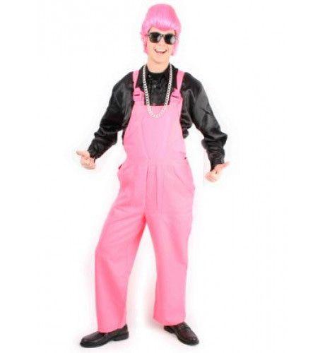 Tuinbroek Fluo Pink Kostuum
