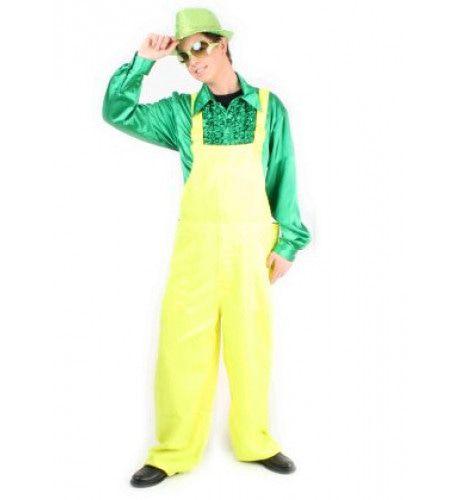 Tuinbroek Fluo Geel Kostuum