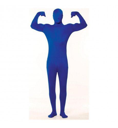 Skinny Skin Blauw Kostuum