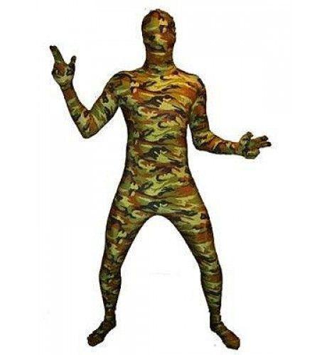 Skinny Skin Camouflage Kostuum