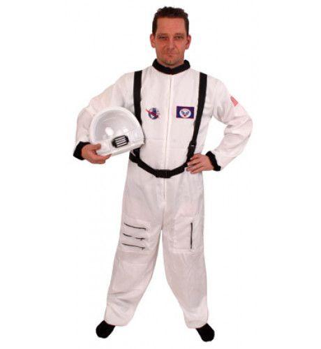 Iss Astronaut Wit Man Kostuum