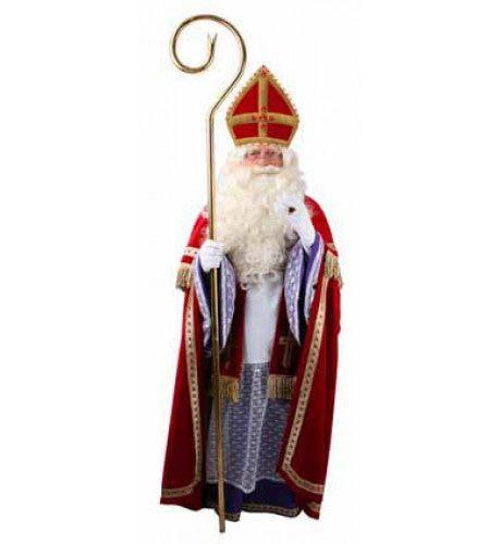 Luxe 5delige Sinterklaas Man Kostuum