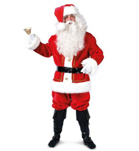 Luche Pluche Kerstman Kostuum