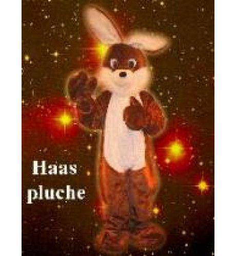 Pluche Haas Man Kostuum