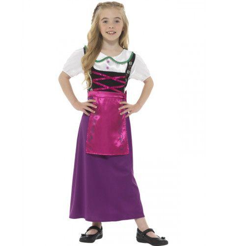 Beiers Schatje Suzanne Meisje Kostuum