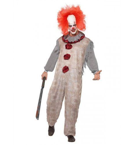 Horror Clown Russisch Staatscircus Man Kostuum
