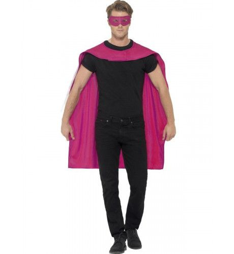 Rozecape En Oogmasker Superheld