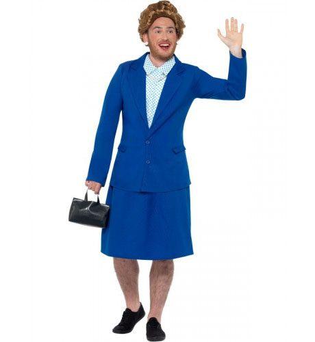 Iron Lady Thatcher Britse Premier Man Kostuum