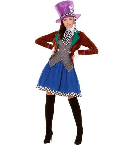 Zo Gek Als Een Mad Hatter Vrouw Kostuum