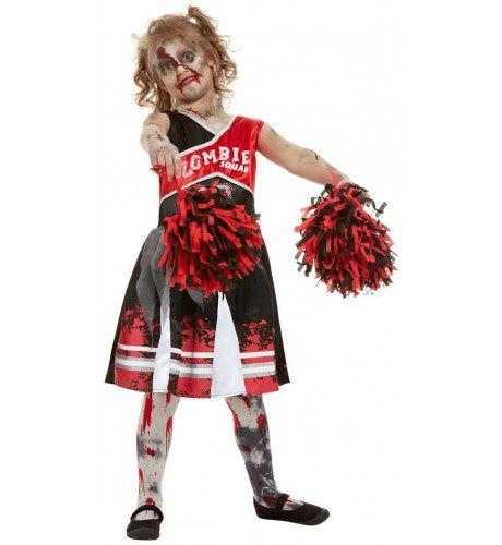 Mislukte Salto Cheerleader American Football Zombie Meisje Kostuum