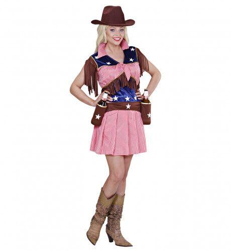 Western Rodeo Cowgirl Vrouw Kostuum