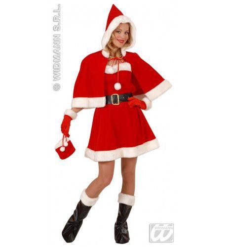 Keurige Kerstvrouw Professioneel Kostuum