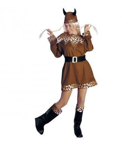 Noorse Viking Dame Kostuum Vrouw
