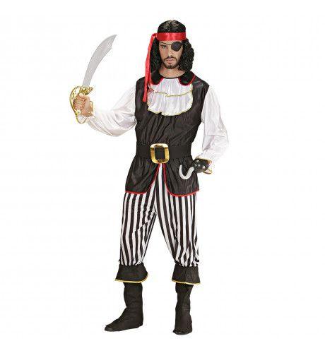 Piraat Ayay Sir Kostuum Man
