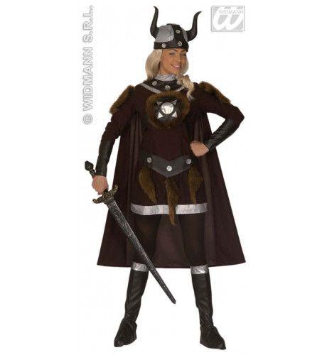 Luxe Viking Viktoria Kostuum Vrouw