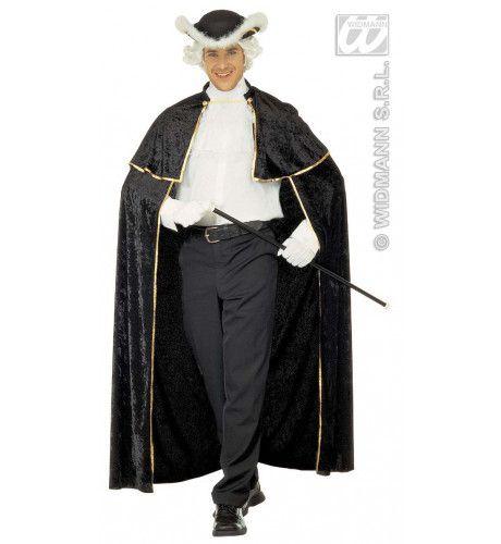 Venetiaanse Cape, Fluweel Gentiluomo Kostuum Man