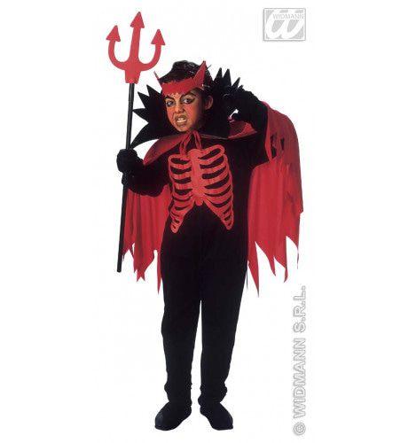 Scary Devil Horror Saltimbanco Kostuum Jongen