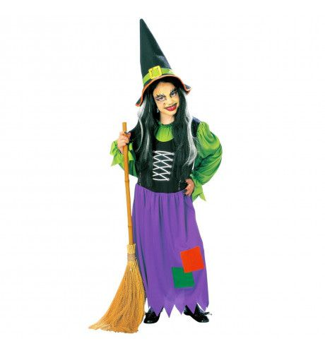 Boze Lelijke Heks Kind Kostuum Meisje