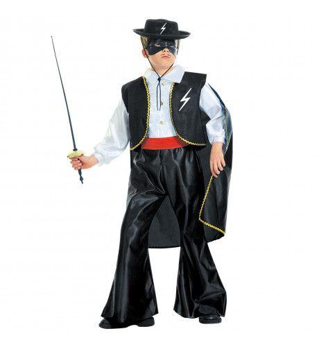 Zwarte Ruiter Bandido Kostuum Jongen