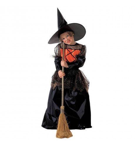 Middeleeuwse Kleine Heks Kostuum Meisje