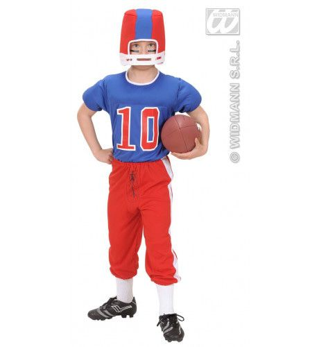 American Football Speler Running Back Kostuum Jongen