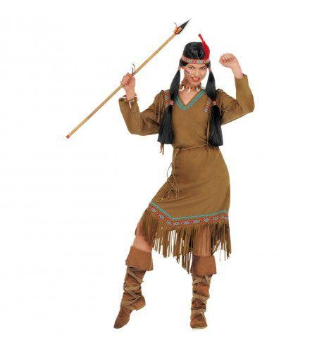 Indiaanse Cheyenne Cheyenne Kostuum Vrouw