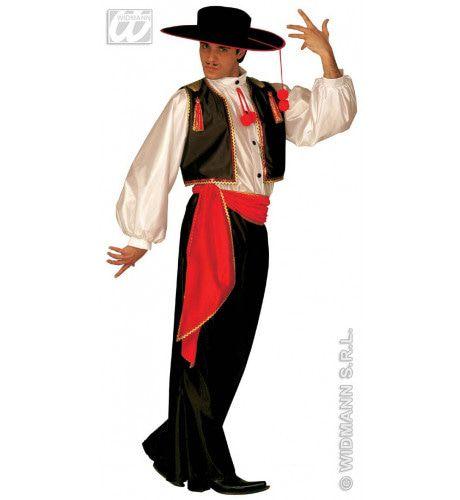 Flamenco Danser Mr Ole Kostuum Man