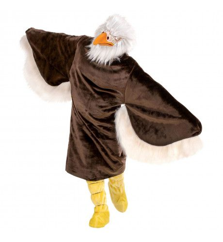 Pluche Arend Mr Eagle Kostuum Man