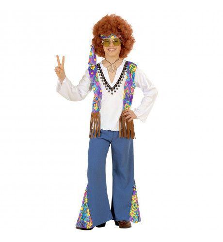 Hippie Jongen Woodstock Lennon Kostuum