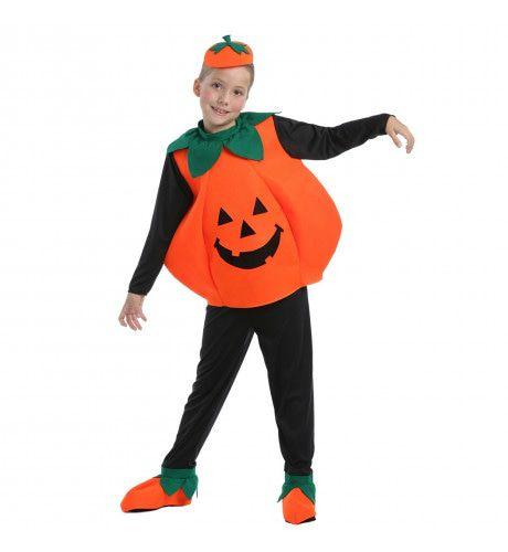 Pompoen Kind Cute Pumpkin Kostuum