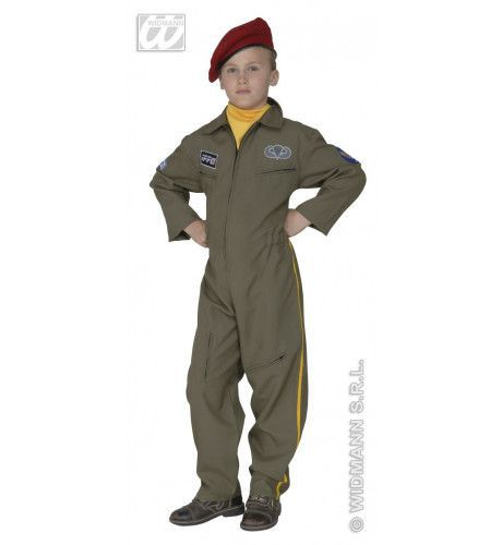 Engelse Paratrouper, Fiberoptisch Kostuum Jongen