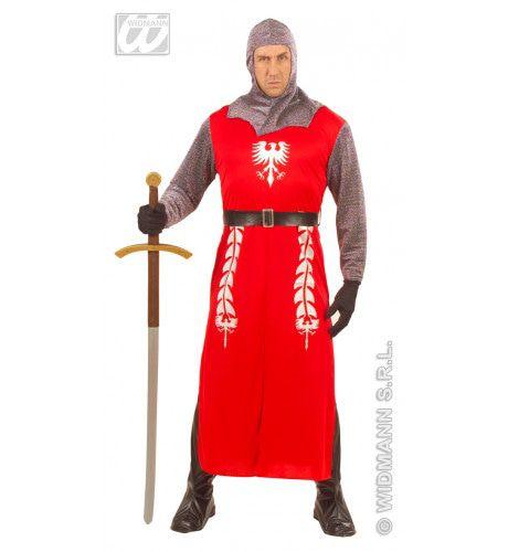 Koning Arthur Ridder Kostuum Man