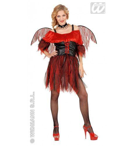 Vrouwelijke Duivel Barok Kostuum