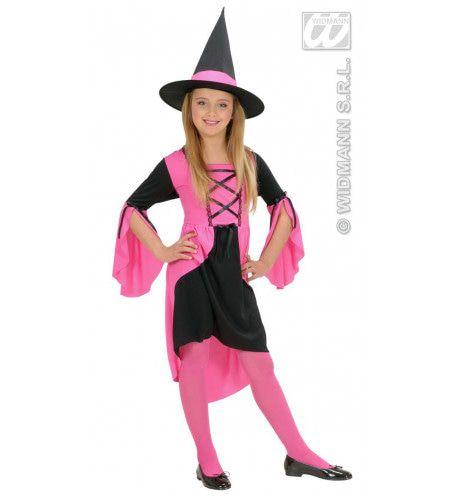 Pixie Heks Roze Kostuum Meisje