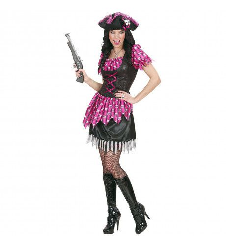 Sexy Pirate Pink Lady Of The Sea Kostuum Vrouw