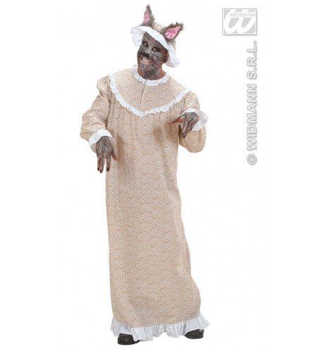 Roodkapjes Grootmoeder Wolf Kostuum Man