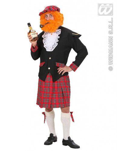 Schotse Man Higlander Kilt Kostuum
