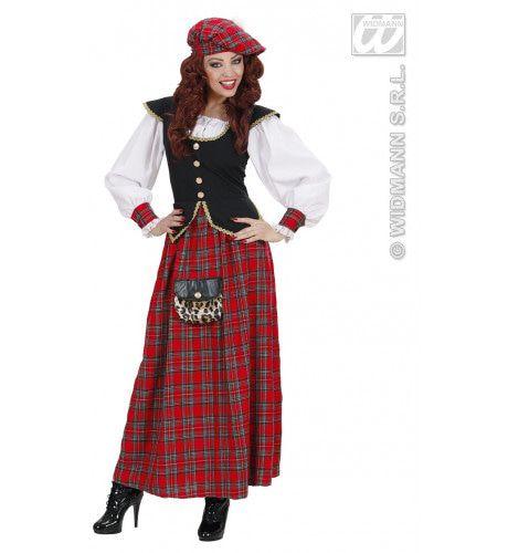 Elegante Schotse Vrouw Kostuum
