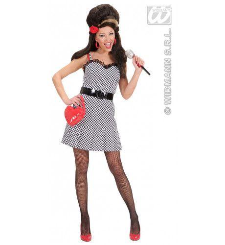 Amy Beerhouse Winehouse Kostuum Vrouw