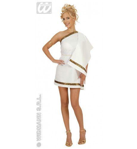 Sexy Griekse Schone Kostuum Vrouw