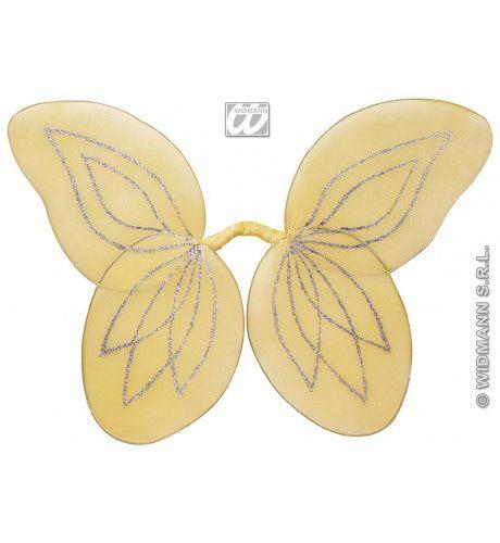 Buigbare Vleugels Fee, 6 Deco Kleuren