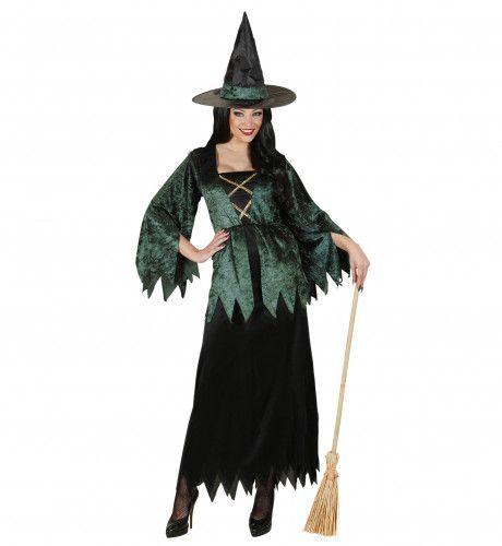 Heks Black Witch Kostuum Vrouw