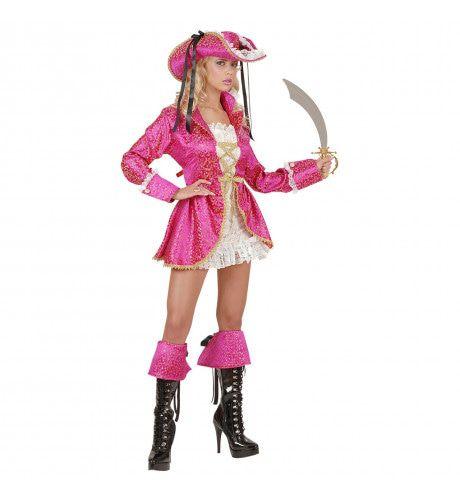 Vrouwelijke Piratenkapitein, Dames Kostuum