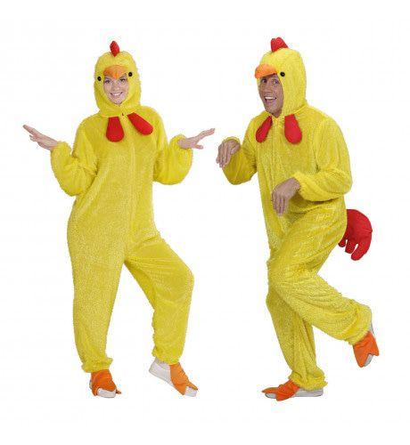Hilarisch Pluche Kuiken Volwassen Kostuum