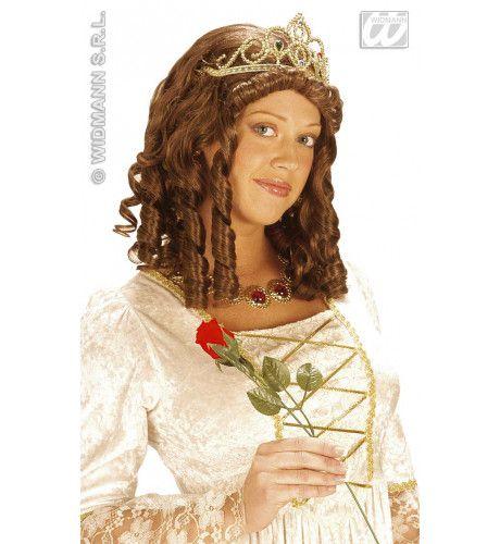 Pruik, Koningin Met Kroon