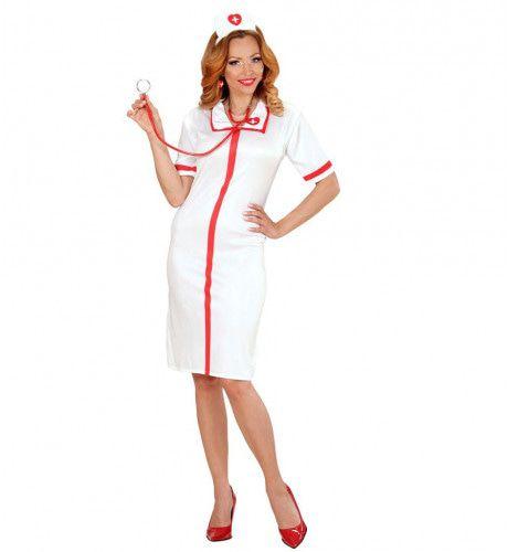 Verpleegster Vrouw Kostuum