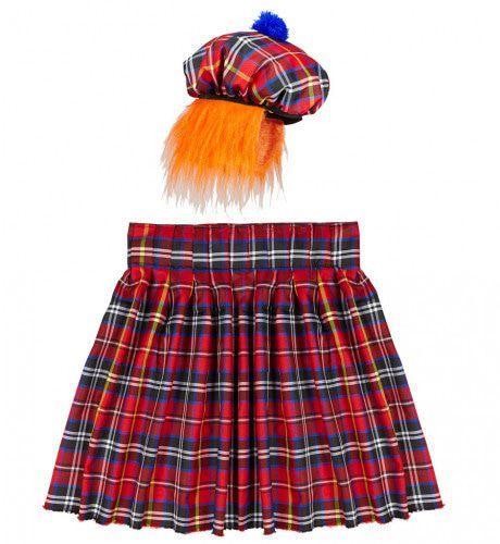 Tartan Schotse Man Kostuum