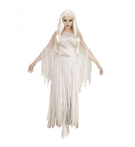 Doodsbruid Spookachtige Geest Vrouw Kostuum
